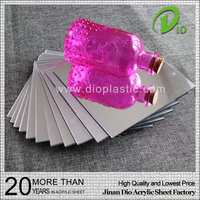 wholesale high density 1mm polystyrene mirror acrylic sheet
