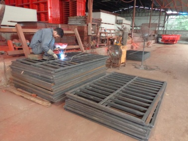 Welding (EPS Energy Saving Board Machinery)