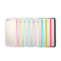Hybrid TPU+PC case for apple iphone 6 plus