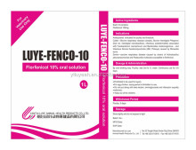 antibacterial veterinary medicine Florfenicol 10% oral solution