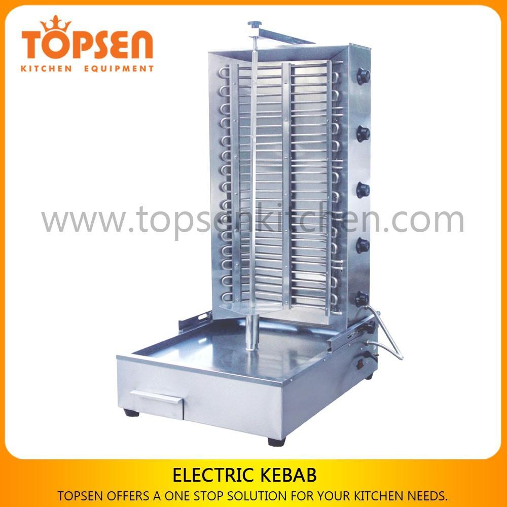 Commercial electric type shawarma grill machine for sale