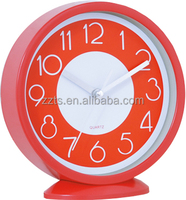 Promotion gift table clock with beautiful and colorful design for kids or chilren using