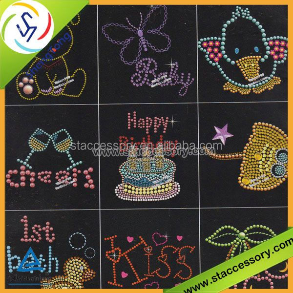 rhinestone template material wholesale