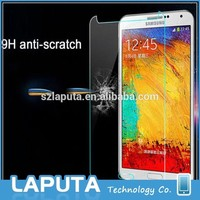 Tempered Glass Screen Protector For Samsung Galaxy Note 3 Touch Screen Cleaner for Samsung Note3