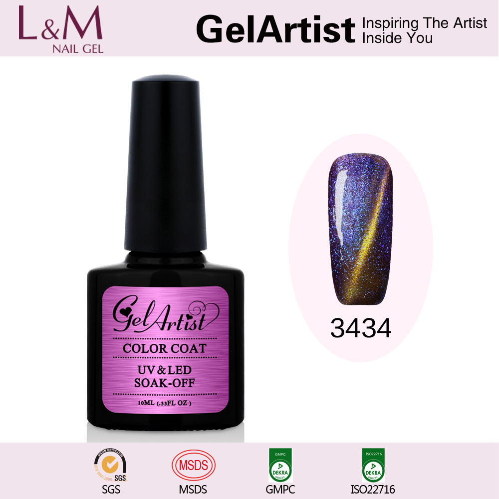 GelArtist Magic Chameleon gel Polish Nail Art Magnetic uv Gel