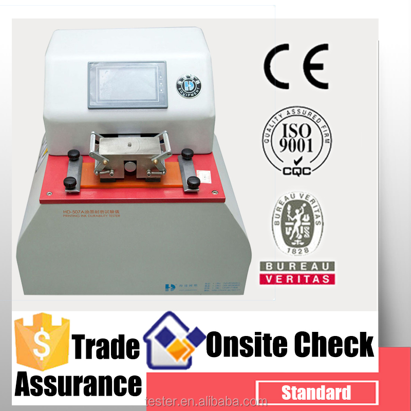 Full New Automatic Printing ink Rub Resistance Test Equipment