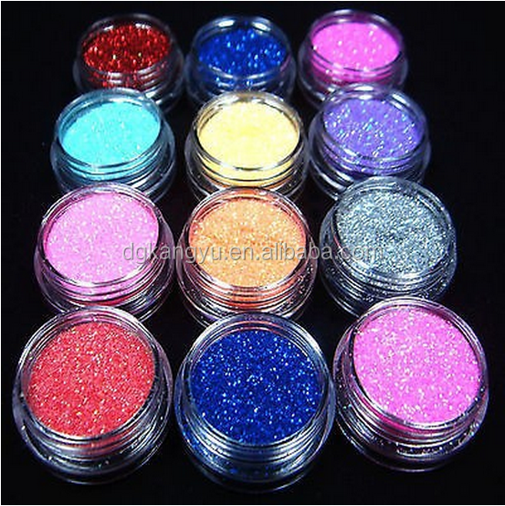 supply colorful DIY glitter bottles shaker many colors a set