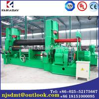 Immediate Delivery NC Stage 3 rolls small sheet roller bending machine