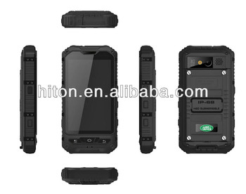 Cheapest factory 4 inch MT6572 3G military mobile phone with Android 4.2 IP67