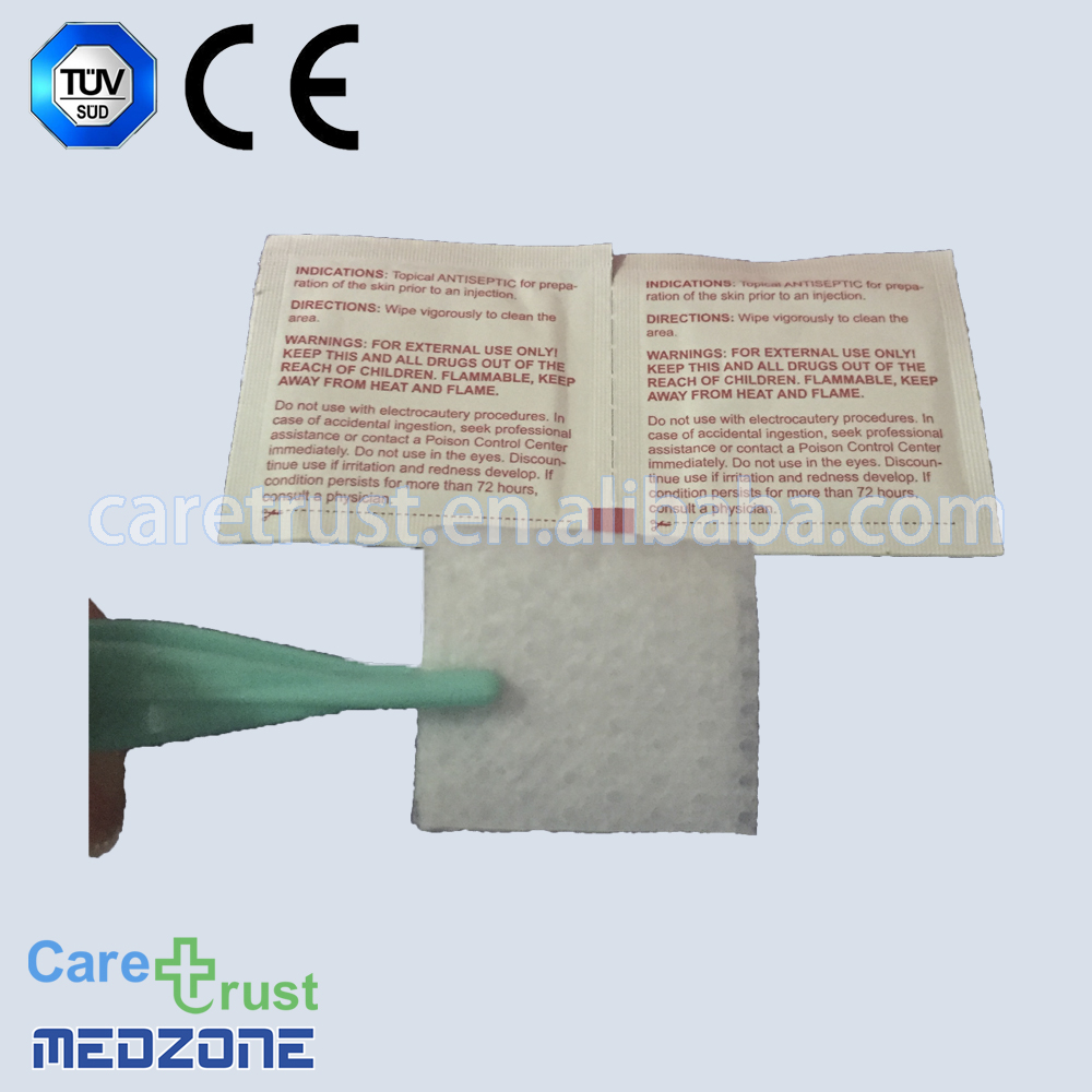 70% Isopropyl alcohol pad alcohol swabs