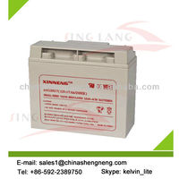 AGM sealed lead acid battery 12V17AH for UPS,high performance
