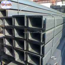 Channel iron prices u profile slotted steel u channel steel sections