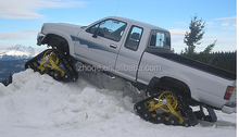 SUV rubber track system for Toyota V6 in snow