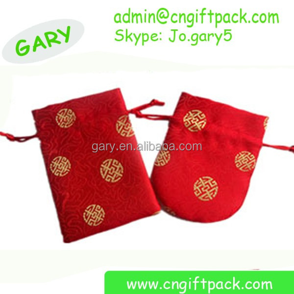 Chinese New Year Red pouch Cloth Red Envelope Hanging Sachets
