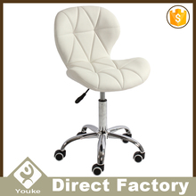 promotion white salon chair adjustable bar stool living room furniture