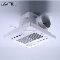 Ceiling Mount Ventilation Fan Exhaust Fan for Bathroom Kitchen