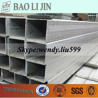 Pre-Galvanized Steel Square/Rectangular Hollow Sections Pipes/Tubes