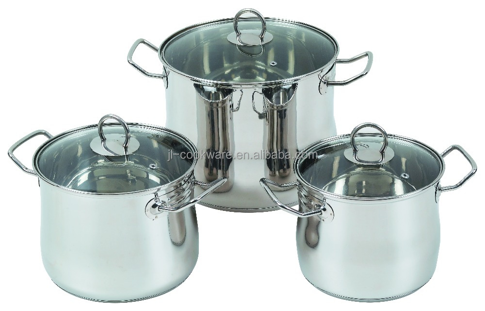 6Pcs Stainless Steel Casserole restaurant equipment price list