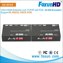 HDMI Extender over TCP/IP Protocol ,Support VLC media player to play a HDMI Source on a LAN network