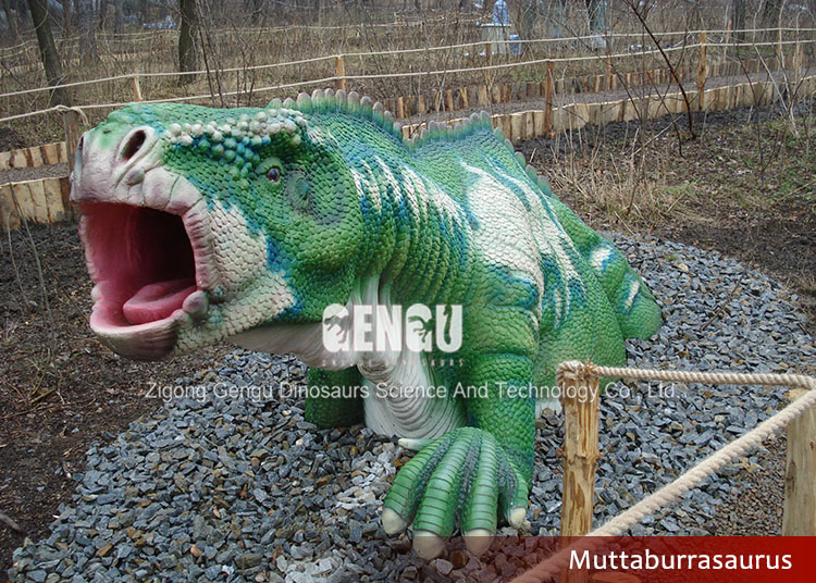 simulation dinosaur of playground equipment