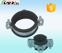 stell rubber galvanized cast iron pipe clamp