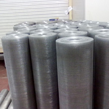 hot-dipped galvanized mild steel welded mesh in rolls