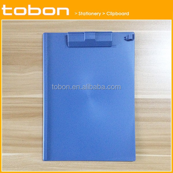 hips material high ps plastic colorful clip board a4 clipboard