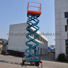 Factory custom genie scissor lifts with max platform height 14m floor lift electric hydraulic