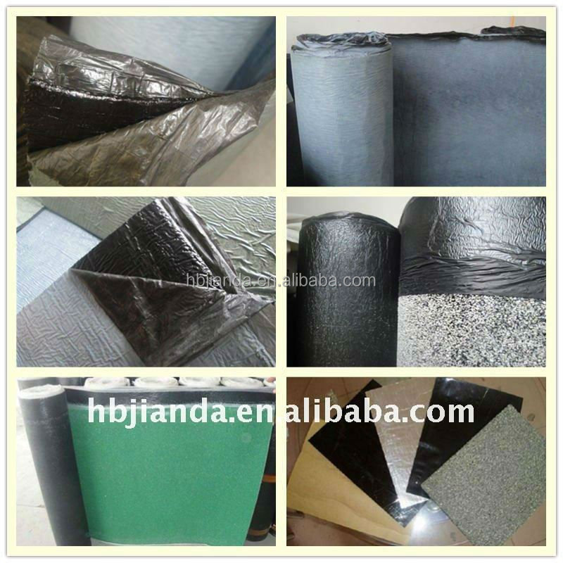 Self adhesive modified bitumen waterproof membranes for roofs