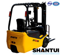 Shantui 1.5 ton 3 point compact mini electric forklift