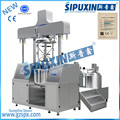 Sipuxin_200L Steam heating Vacuum homogenizer emulsifying mixer with CE certificate