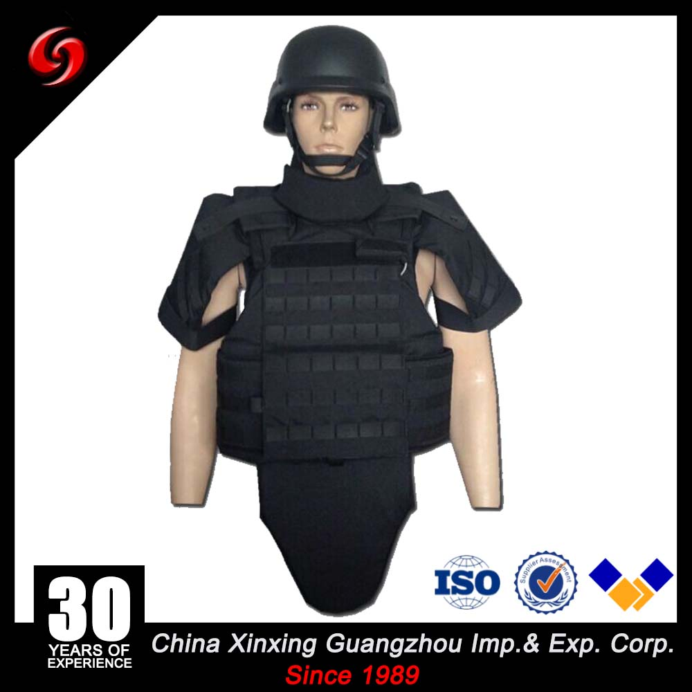 China Xinxing Guangzhou Quick Release Tactical Full Body All Protection military bulletproof vest bullet proof vest for security