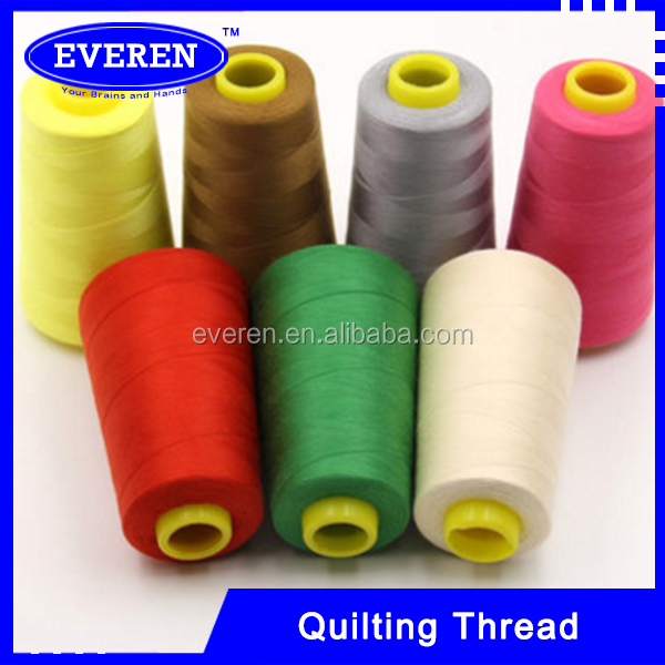 40s/2 poly / poly core spun thread sewing thread silicone oil