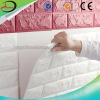 Colored wall panel diy wall decor brick 3d brick wallpaper wall decorative acoustic material