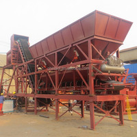 YHZS25 Movable Ready Mix Concrete Batching Plant