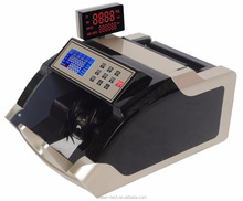 Portable money bill counter/detector with LCD display high quality