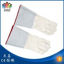 FT SAFETY Assemblers working with cotton gloves/print safety gloves/cow split leather gloves