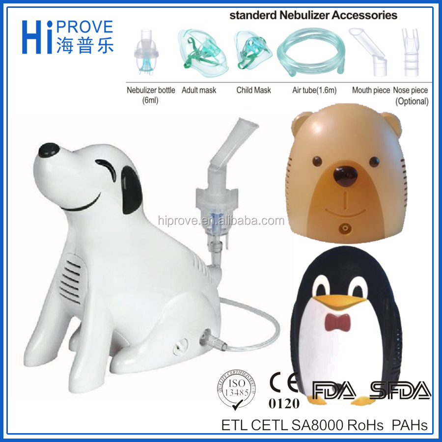 CE FDA approved Respiratory Piston Medical Compressor Nebulizer Dog Model