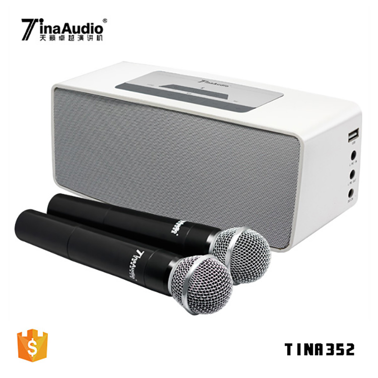 2018 portable blue tooth speaker with amplifier outdoor portable pa system sound system for hotel