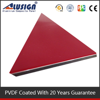 Alusign 2014 hot sale bead board aluminum composite panel