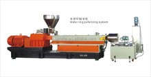 Water-ring hot-face pelletizing production line for PE ABS PS EVA