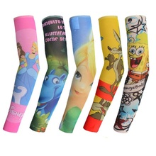 Kids Tattoo Sleeves Fashion Design For Cool Child Nylon Stretchy Kid Temporary Tattoo Sleeves Arm Stockings Tattoo