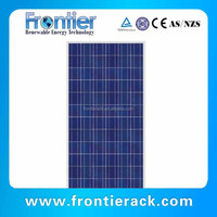 solar panel shanghai 140w sun power polycrystalline solar panel