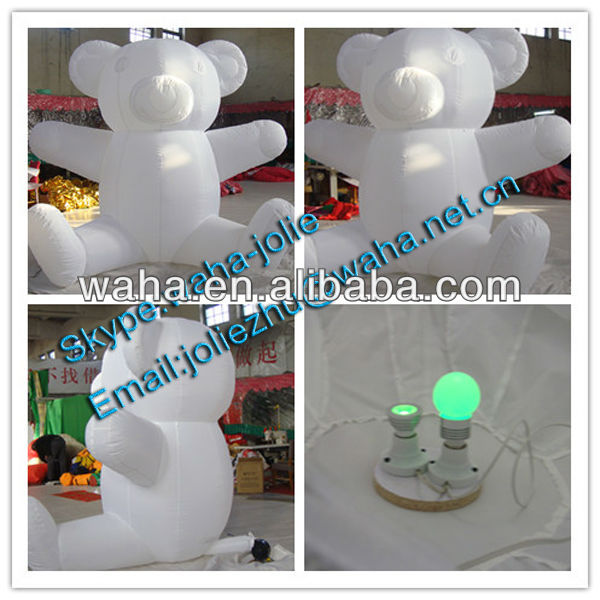 New style advertising inflatable walking cartoon bear