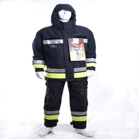 High performance Nomex fire fighting suit with UNI EN ISO 469