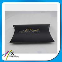 High quality Custom Made Hair Extensions Packaging Box Wig Paper Gift Pillow Box