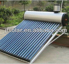 solar water heater heat pipe galvanized steel frame pressurized inner tank for south africa india
