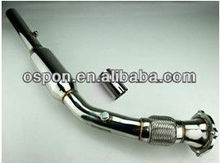 EXHAUST DOWNPIPE for TT A3 1.8T 150 /180HP TURBO