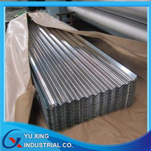 China manufacturer SGCC cold rolled corrugated steel sheet for roofing