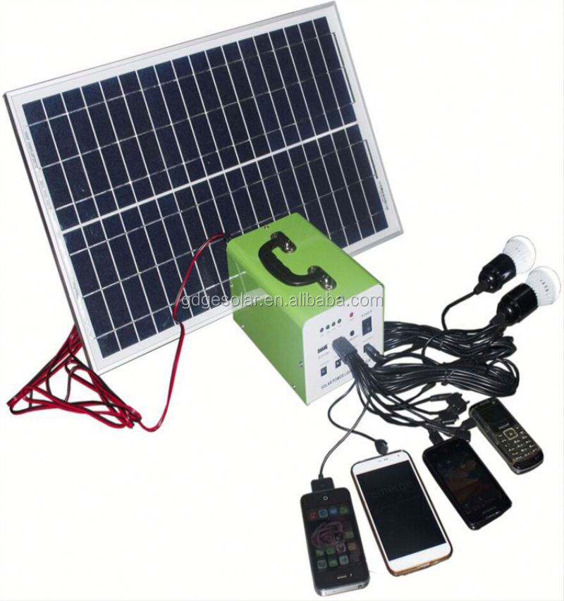 30w portable 100kw solar power system for small homes solar power lighting system